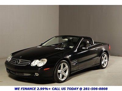 Mercedes-Benz : SL-Class 2006 SL500 NAV HEAT/COOL SEATS 62K MILES BLACK 2006 sl 500 nav heat cool seats 62 k low miles black xenons bose clean carfax