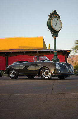 Porsche : 356 Speedster 356 Vintage 1957 porsche vintage speedster replica like new and fully loaded