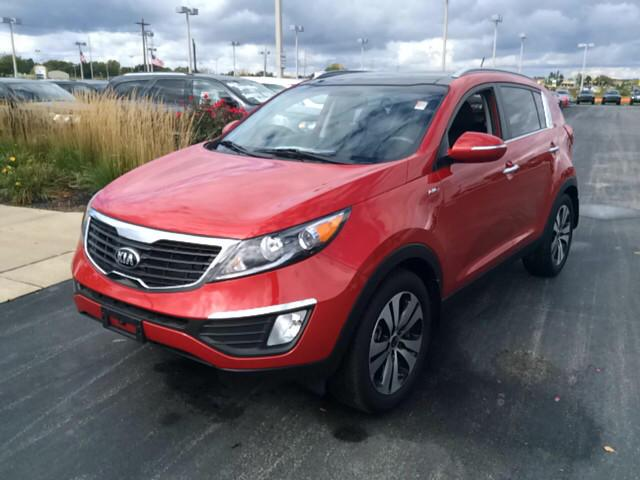 2013 Kia Sportage Red Cars For Sale