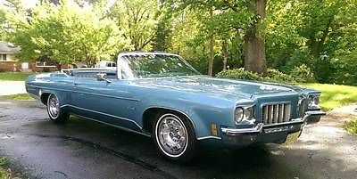 Oldsmobile : Eighty-Eight Royale 1971 oldsmobile delta 88 royale convertible 455