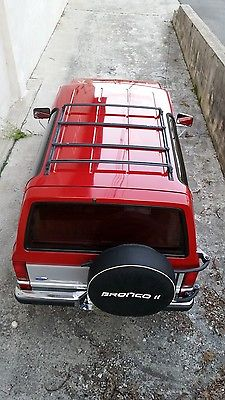 Ford : Bronco II XLT 1990 ford bronco ii clean low miles