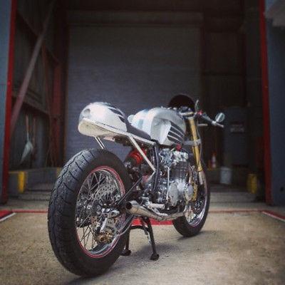 Honda : CB 1974 honda cb 550 custom pro build cafe racer
