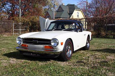 Triumph : TR-6 TR6 1972 triumph tr 6 rare triple webers