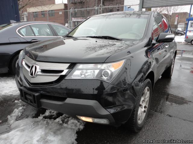 2008 Acura MDX 6-Spd AT w/Tech and Entertainment Package