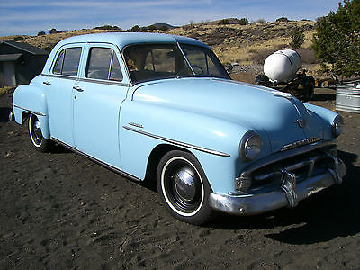 Plymouth : Other Some Chrome Trim 1951 plymouth cranbrook four door sedan