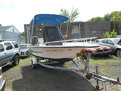 2002 Carolina Skiff Sea Chaser 18ft Center console 75HP Mercury outboard
