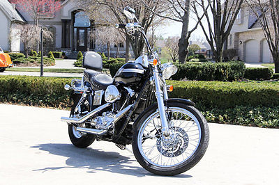 Harley-Davidson : Dyna Wide Glide Authentic 100th Anniversary! Loaded w/ Extras, 88ci V-Twin Engine, 5-Speed FXDWG
