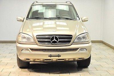 Mercedes-Benz : M-Class ML500 ML500 500 2002 mercedes benz ml 500 low miles serviced