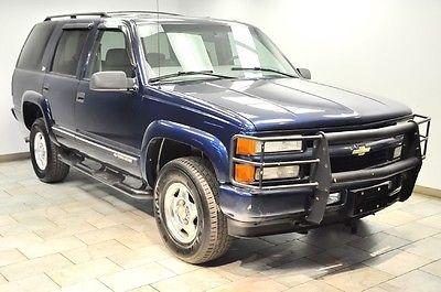 Chevrolet : Tahoe Z71 2000 chevrolet tahoe z 71 xtr clean warranty