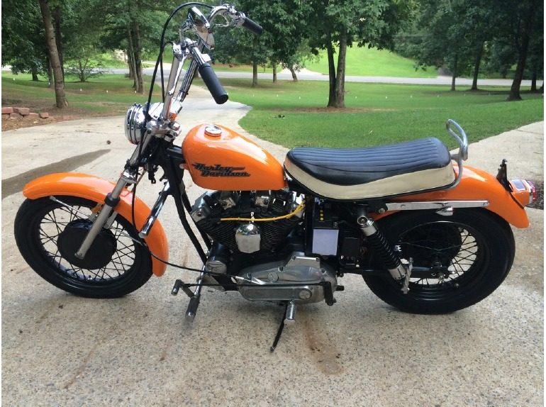 1971 Harley Davidson Ironhead Motorcycles For Sale