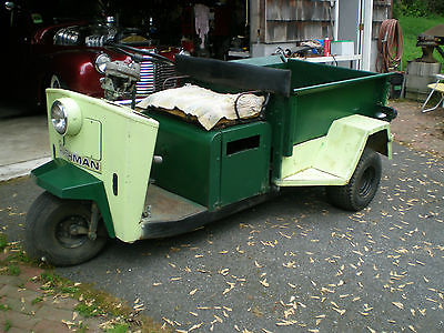 Cushman Truckster 1976 3 wheel atv utility hot rod rat golf cart rv