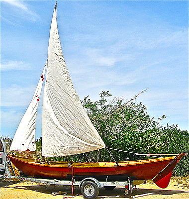 21' Alpha-Beachcomber Swampscott Dory with CalkinsTrailer