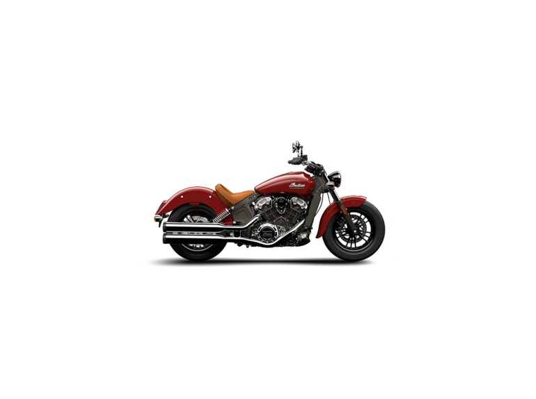 2015 Indian Scout Indian Red