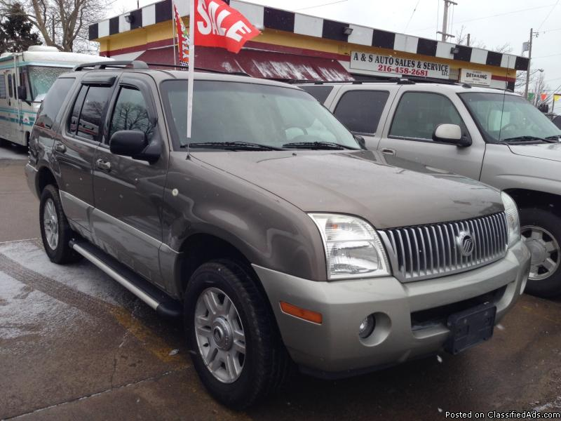 mercury mountaineer florida cars for sale. Black Bedroom Furniture Sets. Home Design Ideas