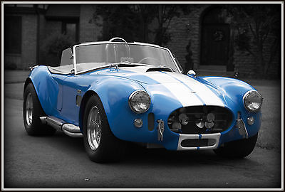 Shelby : AC Cobra AC Shelby 1965 ac shelby cobra 427 side oiler 4 speed grabber blue exceptional condition
