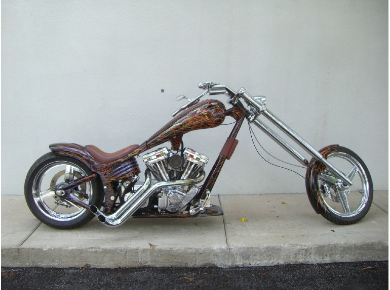 2001 Thunder Cycle Designs drop seat softail