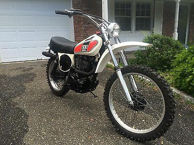 Yamaha : TT Yamaha TT500