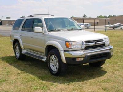Toyota 4runner 2002 silver
