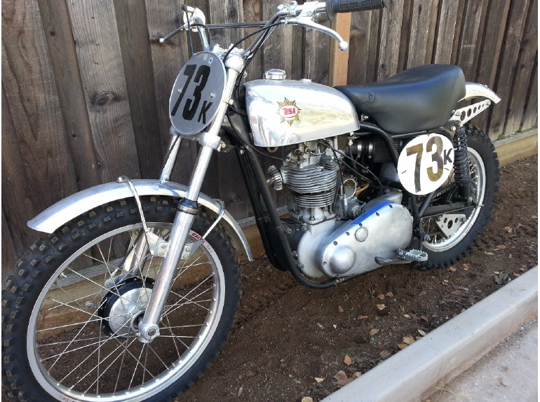 1956 BSA Gold Star