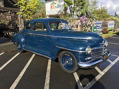 Plymouth : Other Special Deluxe 1947 plymouth coupe survivor special deluxe p 15 bone dry cali rust free