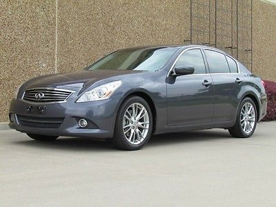 Infiniti : G G37 Journey Premium Technology G37 Sedan Journey Premium! Tech Pkg! One Owner! Warranty! Below KBB! We Finance!
