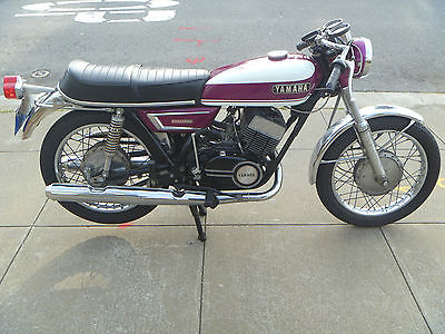 Yamaha : Other 1970 yamaha r 5 350 original paint low miles exc cond rd ds 7 rd 350 matching no s