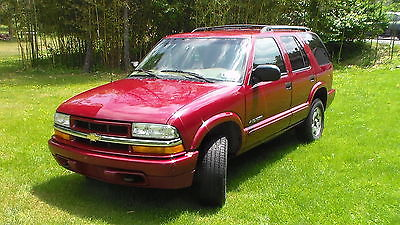 Chevrolet : Blazer LS 2002 chevrolet blazer ls sport utility 4 door 4.3 l 4 wd needs repaired