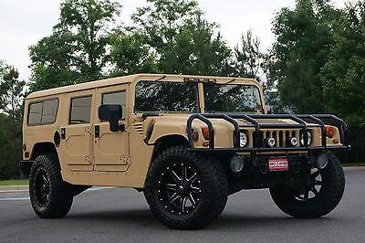 Hummer : H1 AM GENERAL HUMMER H1  1995 am general hummer h 1 wagon hardtop new tires armagillo custom paint