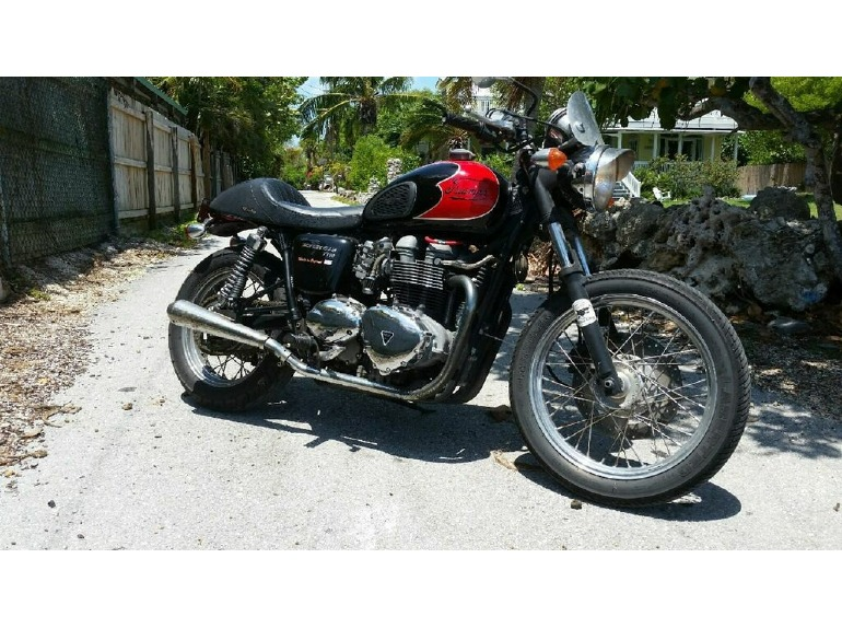 2006 triumph bonneville t100 motorcycles for sale. Black Bedroom Furniture Sets. Home Design Ideas
