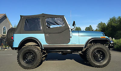 Jeep : CJ STANDARD 1986 jeep cj 7 4 speed danas very nice runs drives perfect adult owned