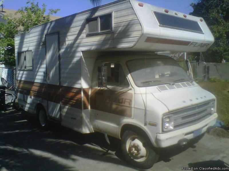 Lazy Daze Rv >> 1978 Dodge Motorhome RVs for sale