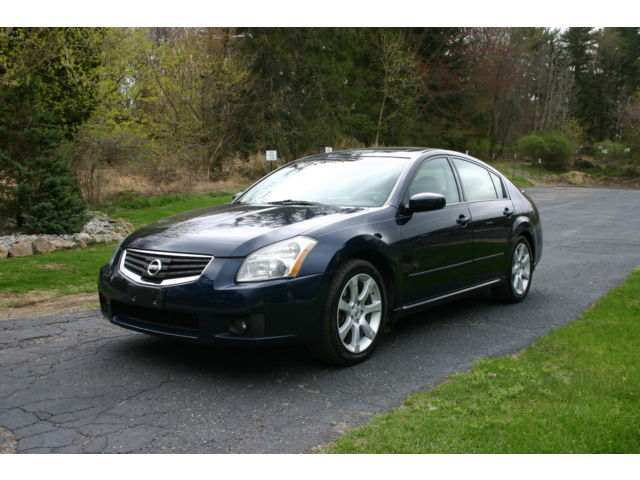Nissan : Maxima 3.5 SE ONE OWNER LEATHER SUNROOF EXCELLENTCONDITION WARRANTY