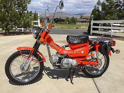 Honda : CT Like New 1975 Honda Trail 90 CT90 W/ 300 miles, Beautiful! Title! Everything OG!