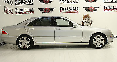 Mercedes-Benz : S-Class S600 2001 mercedes one owner silver v 12 power low miles clean