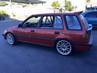 Honda : Civic RT 4WD Wagon 4-Door 1989 honda civic rt 4 wd wagon 4 door 1.6 l