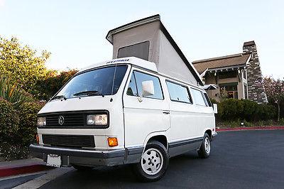 Volkswagen : Bus/Vanagon Campmobile Van Camper 3-Door 1991 volkswagen vanagon multivan vw 2.1 l westfalia vw rare