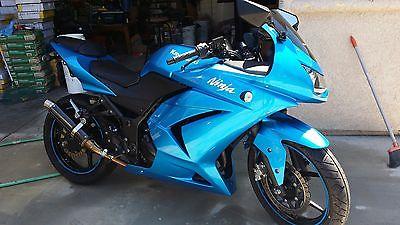 Blue Kawasaki Ninja 250 Motorcycles For Sale