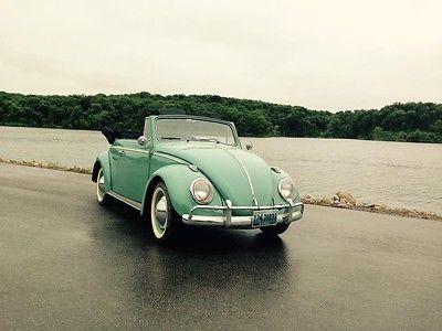 Volkswagen : Beetle - Classic vw pristine 1963 vw beetle convertable