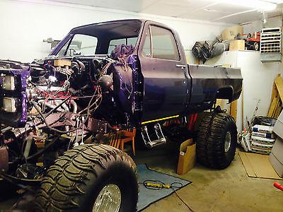 GMC : Sierra 1500 1500 GMC Truck, 4X4 Truck, Monster Truck, Project Truck, Show Truck, Lifted Truck