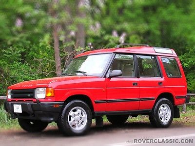 Land Rover : Discovery SD 1996 land rover discovery one owner 69 120 original miles