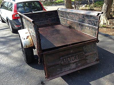 Dodge 1950-52 Trailer pick-up truck bed 16