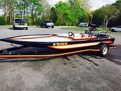 1986 Mantra Performer Gullwing Jet Boat 540 cubic inch CHEVY w/ Brodix Heads,Dou