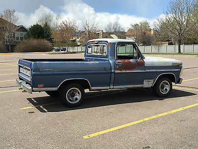 Ford : F-100 Ranger Barn Find Shortbed Big Block 390 Auto 3.54 Limited Slip