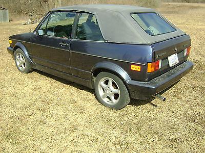 Volkswagen : Cabrio cabriolet 1986 vw cabriolet