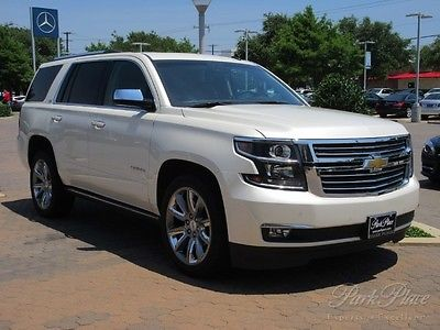 Chevrolet : Tahoe LTZ 2015 v 8 2 wd leather nav backup camera heated cooled seats sunroof dvd bluetooth