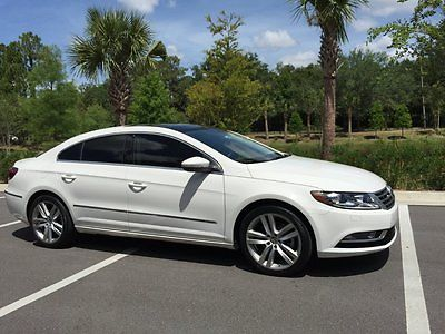 Volkswagen : CC Lux Sedan 4-Door 2013 vw cc luxury only 15 000 miles tint clean bluetooth brand new iphone passat