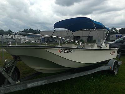 Boston Whaler, Rare Model, Super Sport Limited, Evinrude, 90 hp, trailer