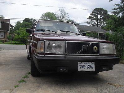 Volvo : 240 dl 1990 volvo 240 dl sedan 4 door 2.3 l