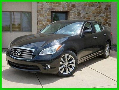 Infiniti : M AWD, Deluxe Touring, Leather, Sunroof, Navigation 2012 awd deluxe touring leather sunroof navigation used certified automatic