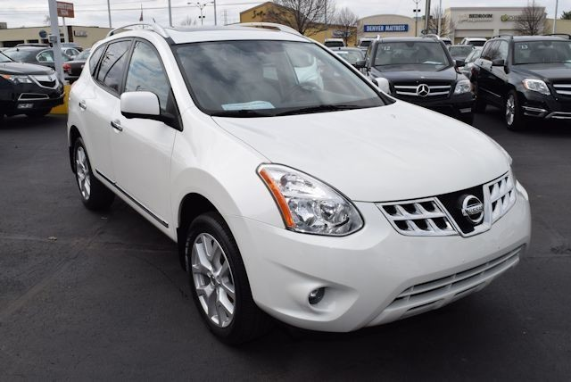 2012 NISSAN Rogue AWD S 4dr Crossover